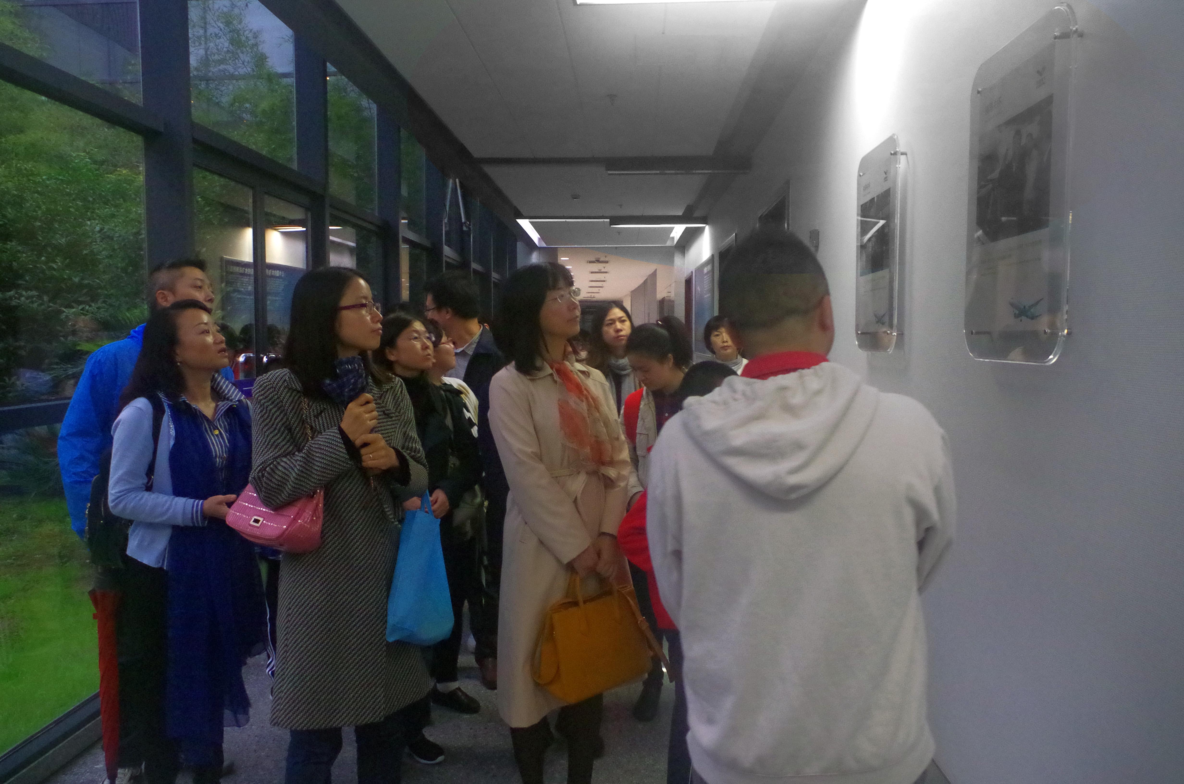 飞机精神——上海外国语大学新闻传播学院党支部组织教工党员参观中国